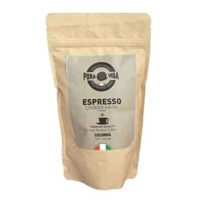 İkona Caffe Espresso Colombia Çekirdek Kahve, 200 gr