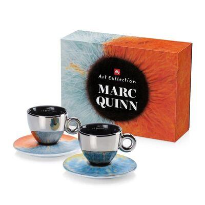 illy Art Collection 2018 Marc Quinn Cappuccino 2'li Fincan Takımı, 170 cc