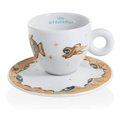 illy - illy Art Collection 2018 Max Petrone Cappuccino 6'lı Fincan Takımı, 170 cc (1)