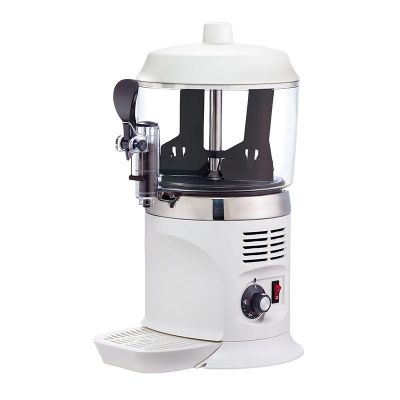 Jelco TS-4000 Sıcak Çikolata ve Sahlep Makinesi, 5 L, Beyaz