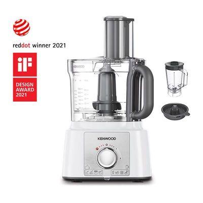 Kenwood - Kenwood FDP65.450WH Multipro Ekspress Mutfak Robotu, 3 L, Beyaz (1)