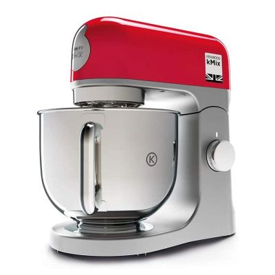 Kenwood KMX750WH kMix Mutfak Şefi, 5 L, Gümüş-Kırmızı