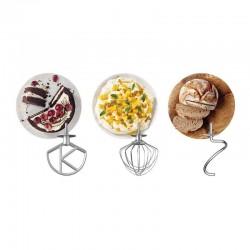 Kenwood KMX750RD kMix Mutfak Şefi, 5 L, Gümüş-Kırmızı - Thumbnail