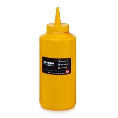 Bora Plastik Ketçaplık Mayonezlik, Şişe Kapaklı, 420 ml, Sarı