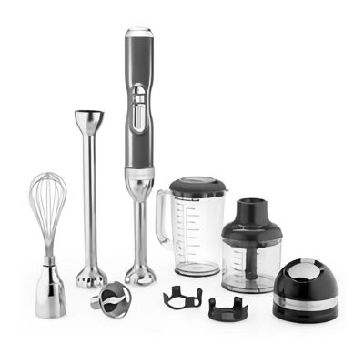 KitchenAid - KitchenAid Artisan El Blender, Şarjlı, Gümüş Madalyon (1)