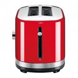 KitchenAid Ekmek Kızartma Makinesi, Manuel Kontrollü, Uzun Yuvalı, İmparatorluk Kırmızısı - Thumbnail