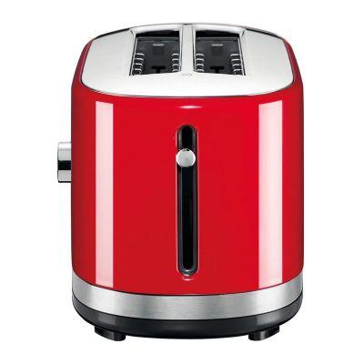 KitchenAid - KitchenAid Ekmek Kızartma Makinesi, Manuel Kontrollü, Uzun Yuvalı, İmparatorluk Kırmızısı (1)