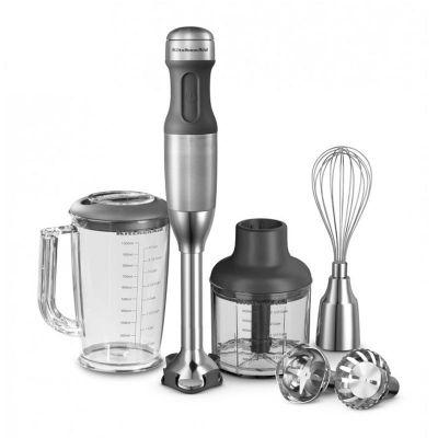 KitchenAid - Kitchenaid El Blenderi, Fırçalı, Paslanmaz Çelik (1)