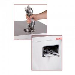 KMS - KMS 3000 Çatal, Kaşık, Bıçak Silme Makinesi, Set Üstü (1)
