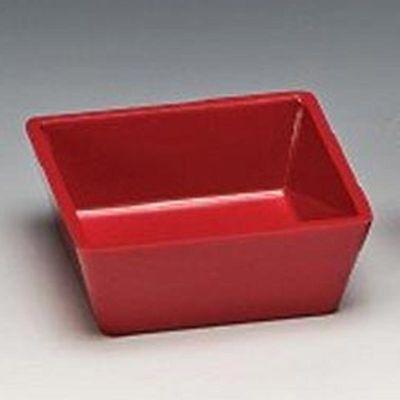 Zicco Köşeli Çerezlik, 9x9x3.5 cm, Kırmızı