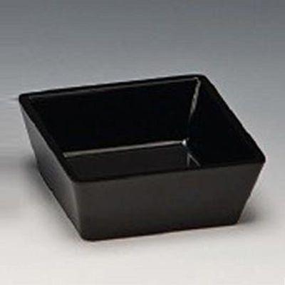Zicco Köşeli Çerezlik, 9x9x3.5 cm, Siyah