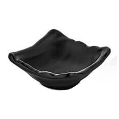 Külsan Thermoset Ramekin, Tekli, 9x8.5 cm, 74 ml, Siyah