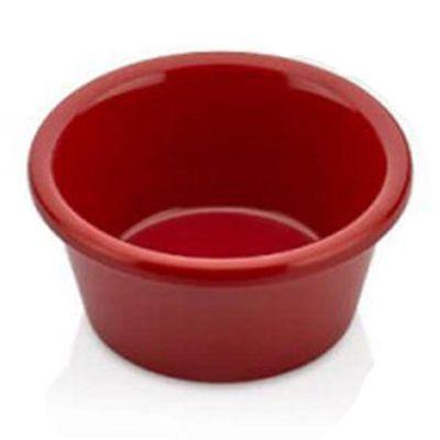 Külsan Thermoset Ramekins, Minimal, Ø 5.8 cm, 2.7 cm Yükseklik, 30 ml, Kırmızı