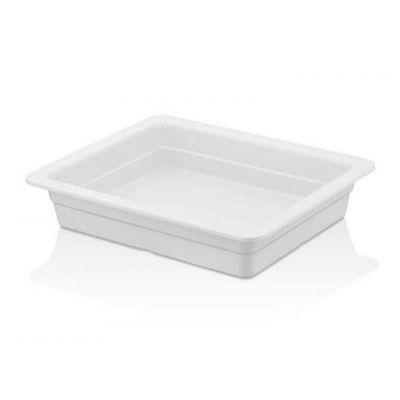 Külsan Thermoset Gastronom Küvet, GN 1/2, 26.5x32.5 cm, 2.9 L, Beyaz