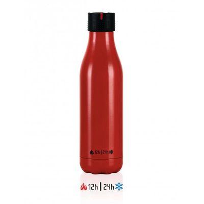 Les Artistes - Les Artistes Zamanlamalı Termos, 16.5 oz, 500 ml, Kırmızı (1)