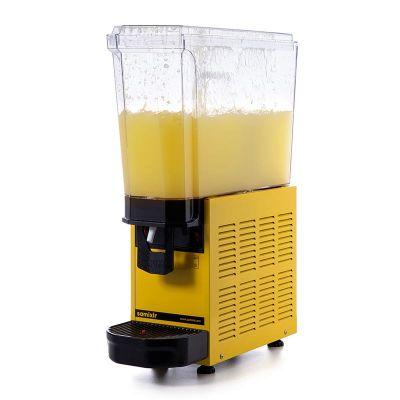 Samixir - Samixir Klasik Mono Soğuk İçecek Dispenseri, 20 L, Fıskiyeli, Sarı (1)