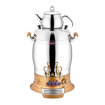 Remta Maksi Çay Makinesi, Çift Demlikli, 16 L, Gold