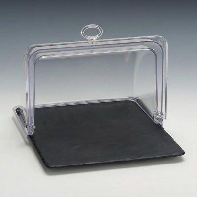 Zicco Muhafaza Kabı, Polikarbon Rolltop Kapaklı, Melamin Altlı, GN 1/2, 32x26x h:20 cm