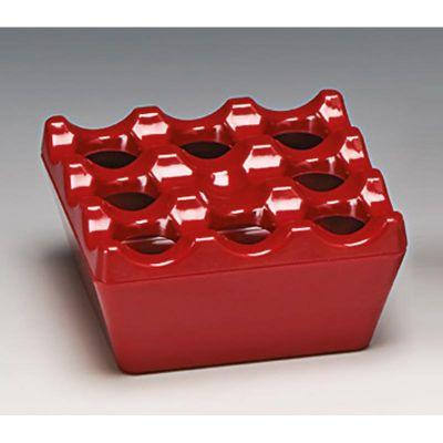 Zicco Küllük, Melamin, 9x9x4.5 cm, Kırmızı