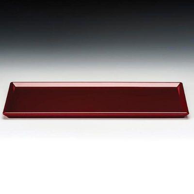 Zicco Teşhir Tabağı, Melamin, 18x35 cm, Kırmızı