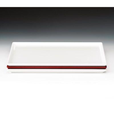 Zicco Teşhir Tabağı, Melamin, 25x35 cm, Kırmızı
