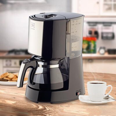 Melitta - Melitta Enjoy II Glass Top 1017-04 Filtre Kahve Makinesi, Siyah (1)