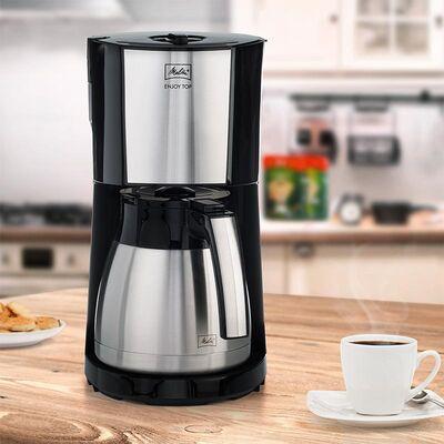 Melitta - Melitta Enjoy Top Therm 1017-08 Filtre Kahve Makinesi, Siyah (1)