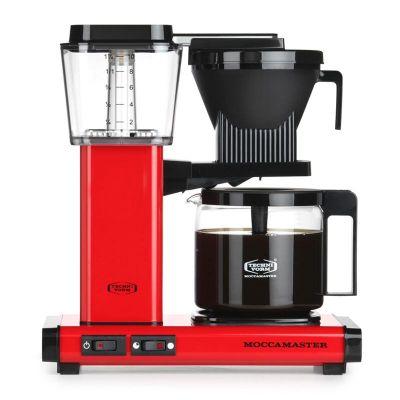 Moccamaster KBG 741 AO Filtre Kahve Makinesi, Kırmızı