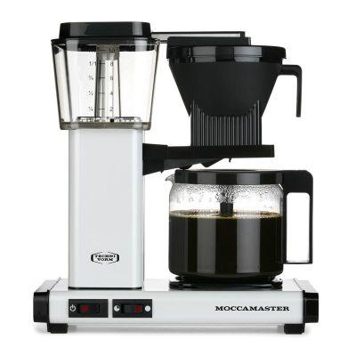 Moccamaster KBG 741 AO Filtre Kahve Makinesi, Metalik Beyaz