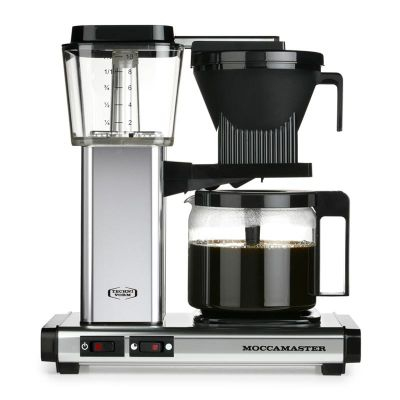 Moccamaster KBG 741 AO Filtre Kahve Makinesi, Parlak Gümüş