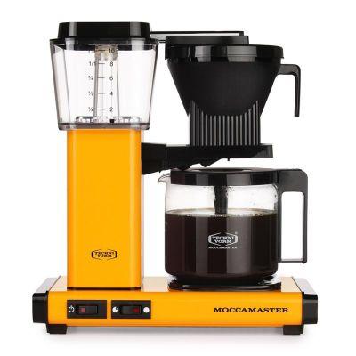 Moccamaster KBG 741 AO Filtre Kahve Makinesi, Sarı Biber