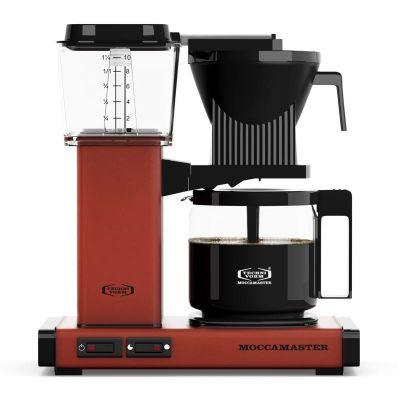 Moccamaster KBG 741 AO Filtre Kahve Makinesi, Tuğla Kırmızısı