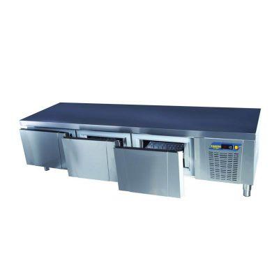 Ndustrio - Ndustrio Loyal 600 Serisi Pişirici Altı Buzdolabı, 3 Çekmeceli (1)