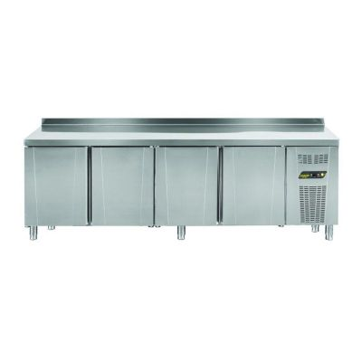 Ndustrio Loyal 600 Serisi Tezgah Tip Buzdolabı, 4 Kapılı