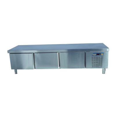 Ndustrio Loyal 700 Serisi Pişirici Altı Buzdolabı, 3 Çekmeceli