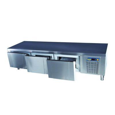 Ndustrio - Ndustrio Loyal 700 Serisi Pişirici Altı Buzdolabı, 3 Çekmeceli (1)