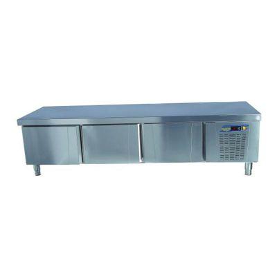 Ndustrio Loyal 700 Serisi Pişirici Altı Buzdolabı, 3 Kapılı