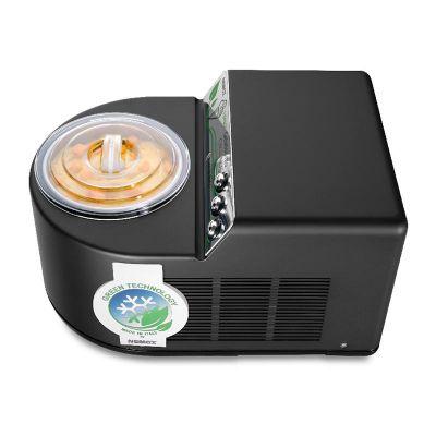 Nemox - Nemox Gelatissimo Exclusive i-Green Dondurma Makinesi, Siyah (1)