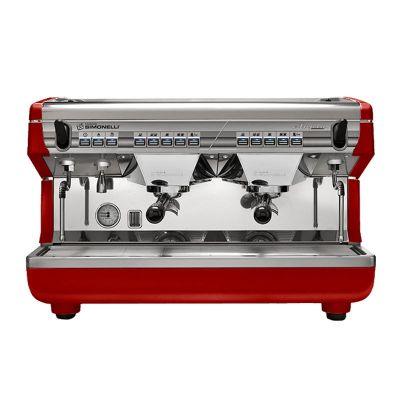 Nuova Simonelli Appia Espresso Kahve Makinesi, Tam Otomatik, 2 Gruplu, Kırmızı