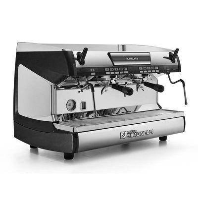 Nuova Simonelli Aurelia Espresso Kahve Makinesi, Tam Otomatik, 2 Gruplu, Siyah