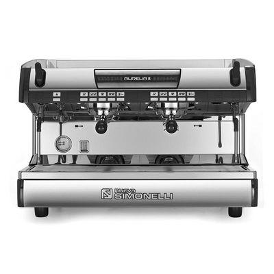 Nuova Simonelli - Nuova Simonelli Aurelia Espresso Kahve Makinesi, Tam Otomatik, 2 Gruplu, Siyah (1)