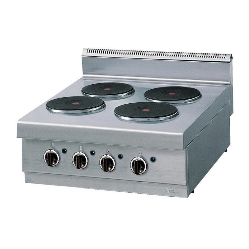öztiryakiler Set üstü Ocak Dörtlü Elektrikli 104 Kw 70x75 Cm Fiyatı