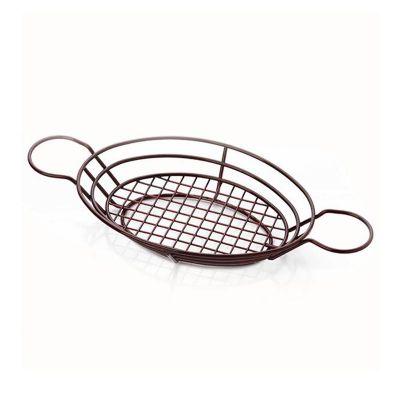 Altınbaşak Sunum Sepeti, Oval, 25x18x6 cm