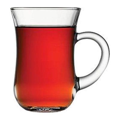 Paşabahçe Keyif Çay Bardağı, Kulplu, 140 cc
