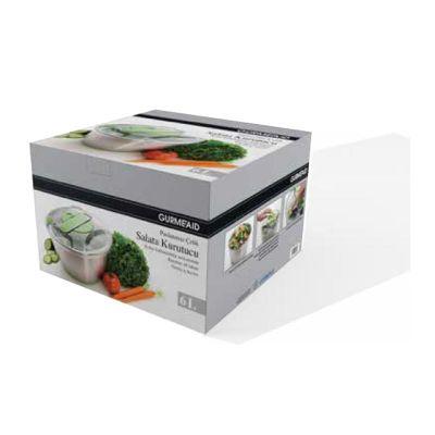Gurmeaid - Gurmeaid Salata Kurutucu, Paslanmaz, Çelik, 6 L (1)