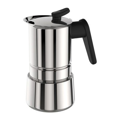 Pedrini Caffet-Acciaio Moka Pot, 2 Cups