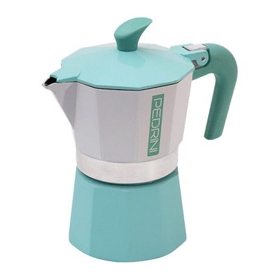 Pedrini Kaffet-Vintage Moka Pot, 3 Cups