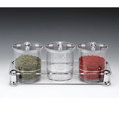 Zicco Sosluk Reçellik Baharatlık Standı, Polikarbon, 0.75 L, 37x14x h:14 cm