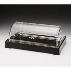 Zicco Teşhir Standı, Soğutuculu, Rolltop Kapaklı, Polikarbon, 57x37 cm - Thumbnail