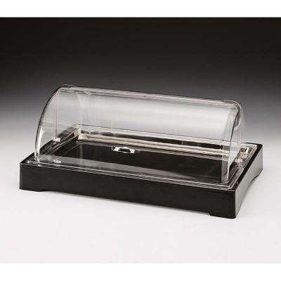 Zicco Teşhir Standı, Soğutuculu, Rolltop Kapaklı, Polikarbon, 57x37 cm